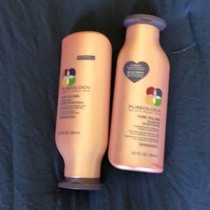 New shampo and contidioner